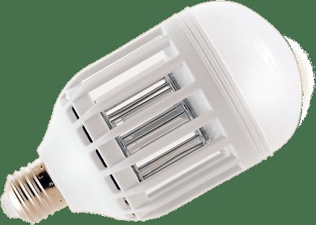 Энергосберегающая лампочка от комаров