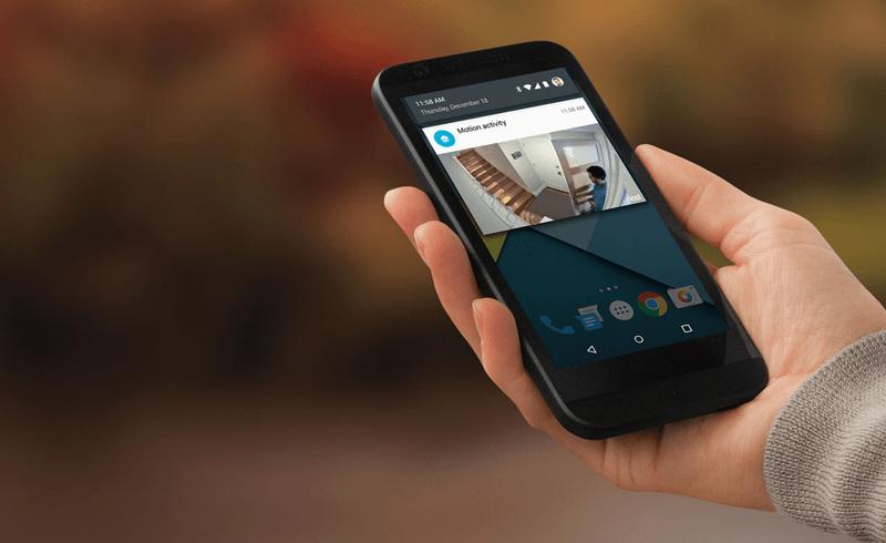 Управление видеонаблюдением со смартфона