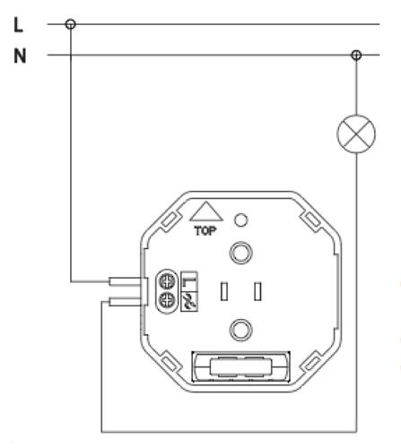 Схема подключения диммера FMDM