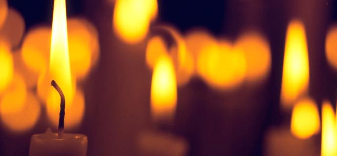 Яркость свечей