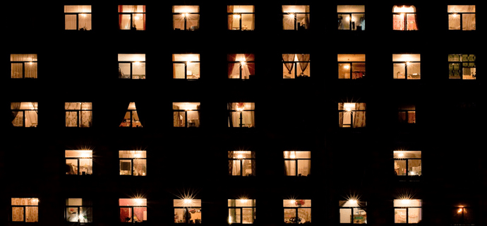 Свет в вечерних окнах