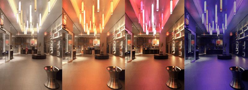 Светодиодная RGB-подсветка для создания настроения